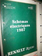 Schémas électriques ESPACE 1987 NT8031