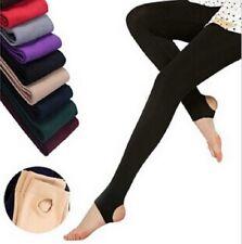 7fad1aa5f73e5f Fashion Women Stirrup Leggings Ladies Winter Cotton Leggings Warm Stretchy  Pants