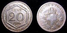 20 Centesimi Esagono 1920 conservz. BB