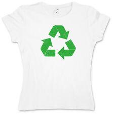 RECYCLE LOGO II GIRLIE SHIRT -  The Big Bang TBBT TV Theory Girl - Gr. XS - XXL