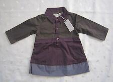 NWT imps & elfs Baby Girls Colorblock Shirt Dress ~ size 68cm US size 3-6 Months