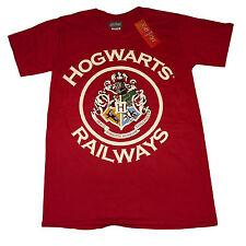 Harry Potter Hogwarts Railways Crest OFFICIAL Hogwarts Express Unisex T-Shirt14E