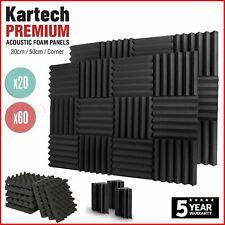 Sound Proofing Acoustic Panels Tiles Foam Studio Egg Shell Insulation Bass Traps