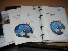 2001 VOLKSWAGEN PASSAT OWNERS MANUAL VW OWNER'S SET
