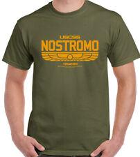 Nostromo-Rétro Film Alien-T-shirt Homme sci-fi film aliens