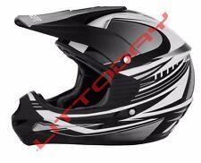 Cyber UX-23 Dyno Mens Off Road Dirt Bike Motocross Helmets Silver Black