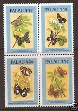 PALAU  # 121 B-E MNH BUTTERFLIES Block