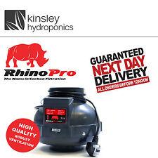 Rhino Fan Single Speed 4 5 6 8 10 Inch Inline Extractor Hydroponics A1 L1 Filter