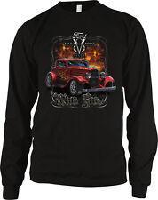 Ford V8 Deuce Wild Ride 1932 Antique Vintage Licensed Design Long Sleeve Thermal