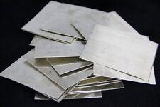 99.99% Sterling Silver Sheet Rectangular Blank 5x10cm Jeweler DIY 0.1,0.2,0.3mm