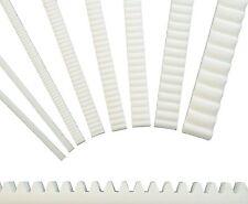 Zahnstangen Modul 0,5 - 3,0 wählbar - Kunststoff Plastik - Zahnstange Typ ZA