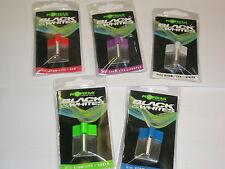 Korda Black + Whites Mini Stow Lite Isotope ALL COLOURS 3x15mm Carp fishing