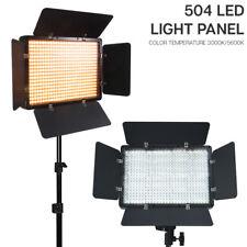 504 LED Barn Door Photo Video Studio Light Panel 86
