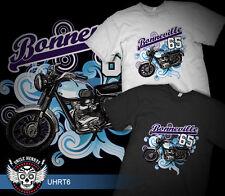 65'   TRIUMPH BONNEVILLE MOTOR CYCLE     RETRO        QUALITY TSHIRT