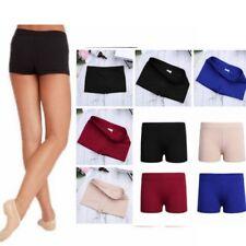 Girl Dance Shorts Boy Cut Body Shorts Pants Kid Yoga Sports Gym Gymnastics Pants