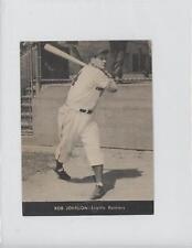 1947 Centennial Flour Seattle Rainiers F340 #N/A Bob Johnson Baseball Card