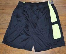 Tek Gear Performance Shorts Men's Basketball Short DryTek Wicking Black Yellow