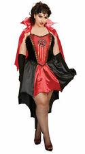 Dreamgirl Drop Dead Beautiful Costume Vampire Halloween Dress Plus Size 1x-3x