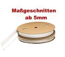 Maßgeschnittener Schrumpfschlauch weiss 2:1 3:1 in 10 Größen von ISO-PROFI