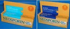 NEOSPORIN PLUS Maximum Strength Pain Relief Cream / Ointment 0.5oz 1oz First Aid