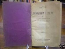 (MANUALI-LATINO)TRATTATO DI PROSODIA LATINA ED ITALIANA