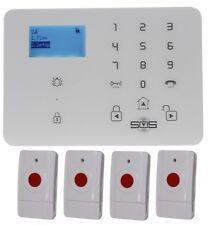 KP9 GSM inalámbrico 100 metros Kit Alarma Personal Pánico un