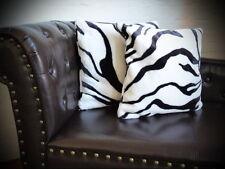 Kissen Kissenhülle Dekokissen im Tierfelldesign Zebra - Größe wählbar!