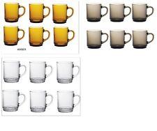 Duralex Versalles Tazas 26 Cl, Ideal Para Bebidas (té, café caliente Coco) Pack 6