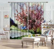 3D Painting Tree Blockout Photo Curtain Printing Curtain Drapes Fabric Window CA
