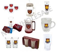 WEST HAM WHFC Pint Glass Shot Glass Whiskey Glass Tankard Mason Jar Gift