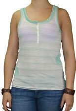 CUSTO BARCELONA Women's TDI Pink Scoop Back Striped Tank Top 290557 $87 NWT