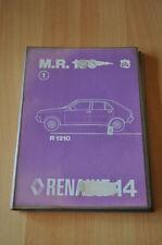 Werkstatthandbuch Renault R 14 Mechanik MR183 R1210 05/1976