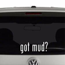 Got Mud? Off Roading Vinyl Decal Sticker Got Milk Parody