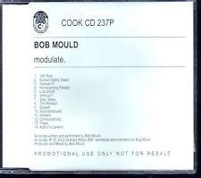 BOB MOULD Modulate UK FULL PRO CD ALB HUSKER DU