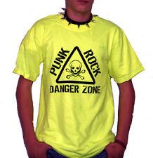 PUNK ROCK DANGERZONE Neon T-Shirt neon-gelb