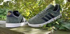Adidas Originals Mens Gazelle Fashion Trainers Green Black BNIBWT Sizes UK 6 -11