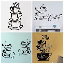 Coffee Words Kitchen Light Switch Sticker Vinyl Skin cover sw64