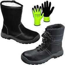 Winter Pelz Sicherheitsschuhe Sicherheitsstiefel Winterstiefel Arbeitsstiefel S3