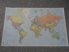 Wandkarte - Weltkarte politisch - 142x93 cm - laminiert