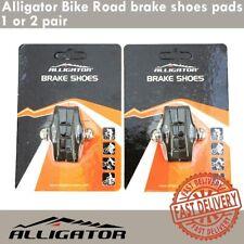 Alligator Bike Road brake shoes pads fit Shimano 105 Ultegra DuraAce 1 or 2 pair
