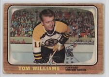 1966-67 Topps #38 Tommy Williams Boston Bruins Hockey Card