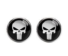 The Punisher Skull Ghost Cufflink Novelty Shirt Cuff Link Wedding Party C20