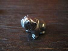 niedlicher Silber Bully English Bulldog zucker süß !