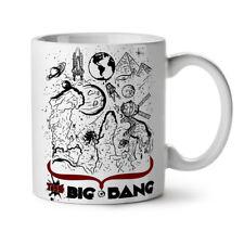 El Big Bang Theory Nuevo Blanco Té Café Taza 11 OZ (approx. 311.84 g) | wellcoda