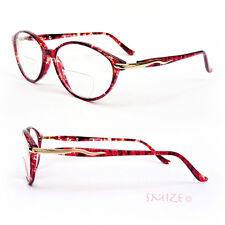 Bifocal Vision Cat Eye Tortoise Color Women's Reading Glasses 150-350