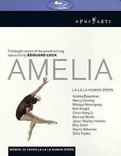 DVD: Lang: Amelia - featuring La La La Human Steps [Blu-ray], Lock. Very Good Co