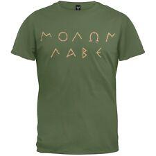 Molon Labe Ancient Greek Letters Adult Mens T-Shirt
