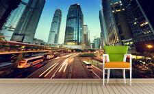 3D Città Costruzio Parete Murale FotoCarta da parati immagine sfondo muro stampa