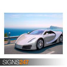 GTA Concept Super Sport Car 3 (0447) cartel de auto-arte cartel impresión A1 A2 A3 A4