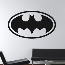 Batman Retro Superhero Logo Wall Art Sticker (AS10194)